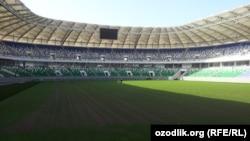 "Тошкентдаги ""Бунёдкор"" стадиони (архив сурати)."