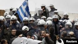 Протести во Грција.
