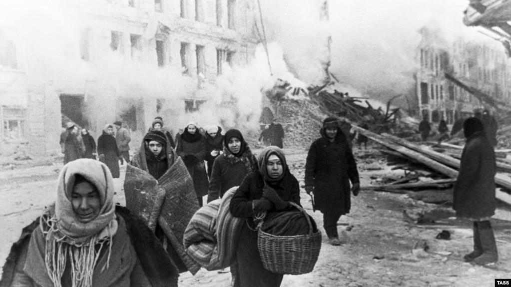 эвакуация в Ленинграде