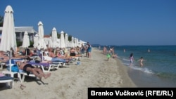 Пляж у Грэцыі