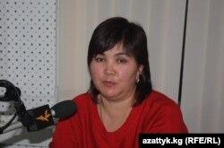 Аскер Сакыбаева. 2011-жылдын 7-ноябры.