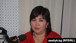 Аскер Сакыбаева. Архивдик сүрөт.