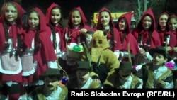 Маската Црвенкапа на Струмичкиот карневал.