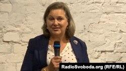 Вікторія Нуланд під час зустрічі із жінками-лідерками. Київ, 11 вересня 2019 року