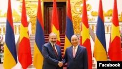 Премьер-министр Армении Никол Пашинян во Вьетнаме, 5 июля 2019 г.