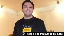 Матеј Маневски, младински активист од Куманово.