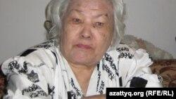Ғазал Мағауина, Абайдың шөбересі, Азаттық радиосына естелік айтып отыр. Алматы, 9 тамыз 2010