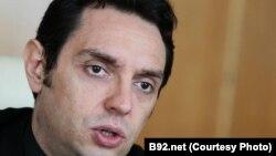 Serbia - Serbian government's Office for Kosovo Aleksandar Vulin, undated