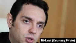 Shefi i Zyrës për Kosovën në Qeverinë e Serbisë, Aleksandër Vulin