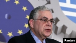 Колишній прем'єр-міністр Греції Лукас Пападімос