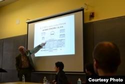 """Николай Плотников на конференции """"Гегель в Россию и обратно"""" в Нью-Йорке"""