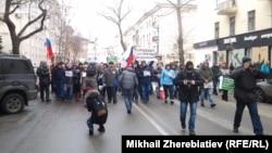 Шествие в Воронеже 1 марта
