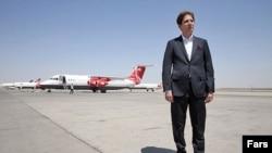 بابک زنجانی سرمایهگذار شرکت هواپیمایی قشم و مالک باشگاه راهآهن است