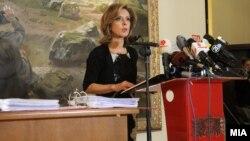 екс министерката за култура Елизабета Канчевска – Милевска