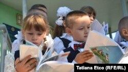 Deschiderea anului nou școlar la Sociteni