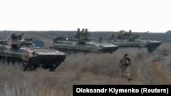 Українські військові залишають свої позиції, Богданівка, 9 листопада 2019 року