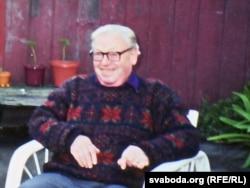 Віктар Сянкевіч (Язэп Барэйка). Апошні вядомы фотаздымак. Каліфорнія, 1994