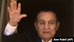 Египеттің бұрынғы президенті Хосни Мүбарак.