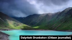 Озеро Коль-Тор, Кыргызстан.