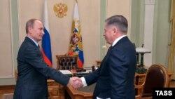Vladimir Putin gjatë një takimi të sotëm
