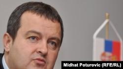 Српскиот министер за внатрешни работи Ивица Дачиќ