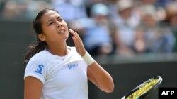 Теннисистка из Казахстана Зарина Дияс.