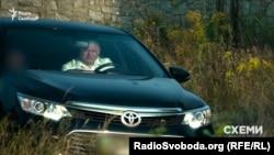 Прокурор Генпрокуратури Олександр Амплеєв на автомобілі своєї бабусі