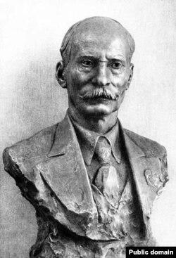 Заір Азгур. Партрэт Якуба Коласа. 1940 год