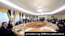 Встреча глав государств Центральной Азии в Астане