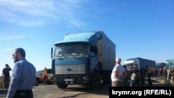 На адміністративному кордоні з Кримом, 20 вересня 2015 року