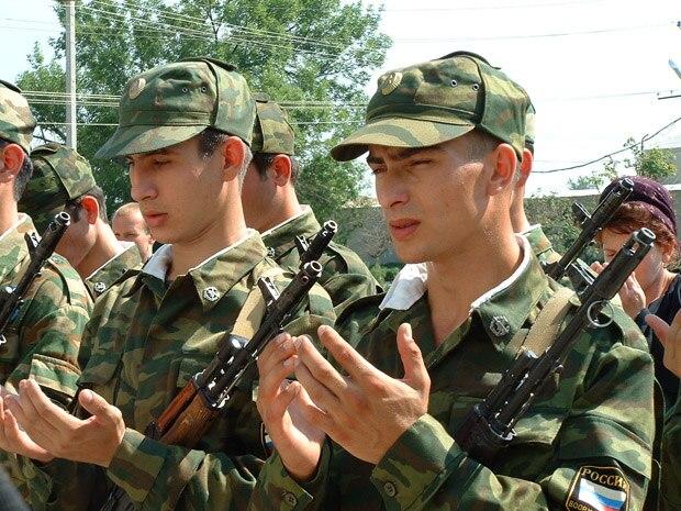 Российская армия ждёт призывников с