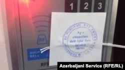 On December 26, 2014, Azerbaijani prosecutors sealed shut RFE/RL's Baku bureau after ordering staff to leave.