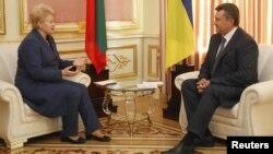 Під час зустрічі Президентів України і Литви