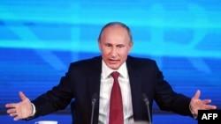 Большая пресс-конференция Владимира Путина 20 декабря 2012 года