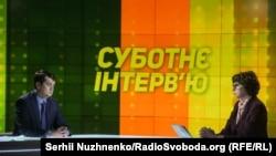 Телеканал «Еспресо» транслює у своєму ефірі програму виробництва Радіо Свобода під назвою«Суботнє інтерв'ю»