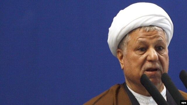 "Former Iranian Presideent Akbar Hashemi Rafsanjani calls Ahmadinejad's remarks ""unfounded and irresponsible."""