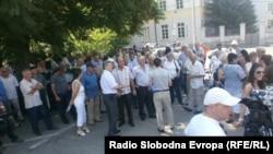 Protest u Banjaluci 20. juna 2012.
