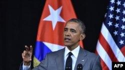 Президент США Барак Обама на Кубі