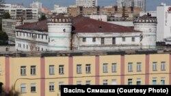 Сьледчы ізалятар №1 ГУВД на вуліцы Валадарскага
