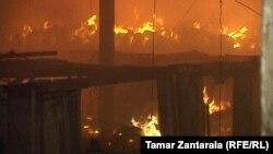 Причина возникновения пожара и другие детали пока не известны