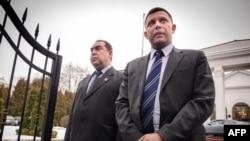 Moskva meylli separatçıların liderləri Aleksandr Zakharchenko və Igor Plotnitsky