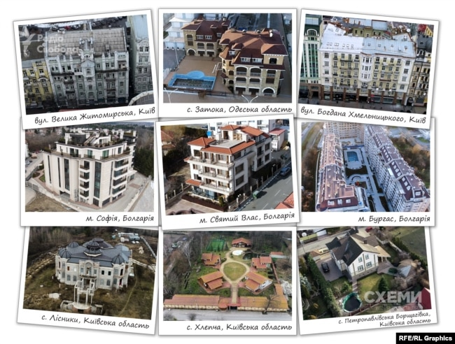Елітна нерухомість родини експрокурора Нечипоренка в Україні та Болгарії