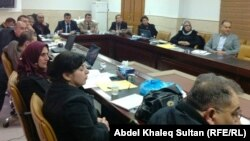 مسؤولون صحيون من بغداد ومحافظات شمال العراق يجتمعون في دهوك لمناقشة وسائل الحد من إنتشار مرض الحصبة.