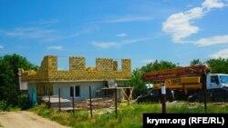 Недостроенный дом в Крыму, иллюстрационное фото