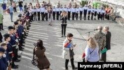 Митинг и молебен в память о погибших пассажирах теплохода «Армения» в Ялте, 7 ноября 2019 год
