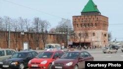Улица в Нижнем Новгороде.