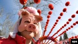 به اعتقاد چینی ها، سال خوک «سال ثروت و خوشبختی» است.