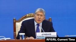 Ղրղըզստանի հեռացող նախագահ Ալմազբեկ Աթամբաևը, արխիվ: