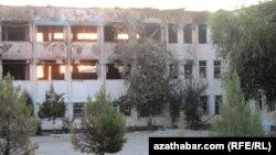 A school damaged in the July ammunition depot in Abadan in July