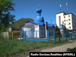 Непрацююча церква Київського Патріархату в Донецьку